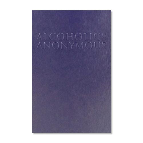 A.A. Big Book Large Print (Paperback)