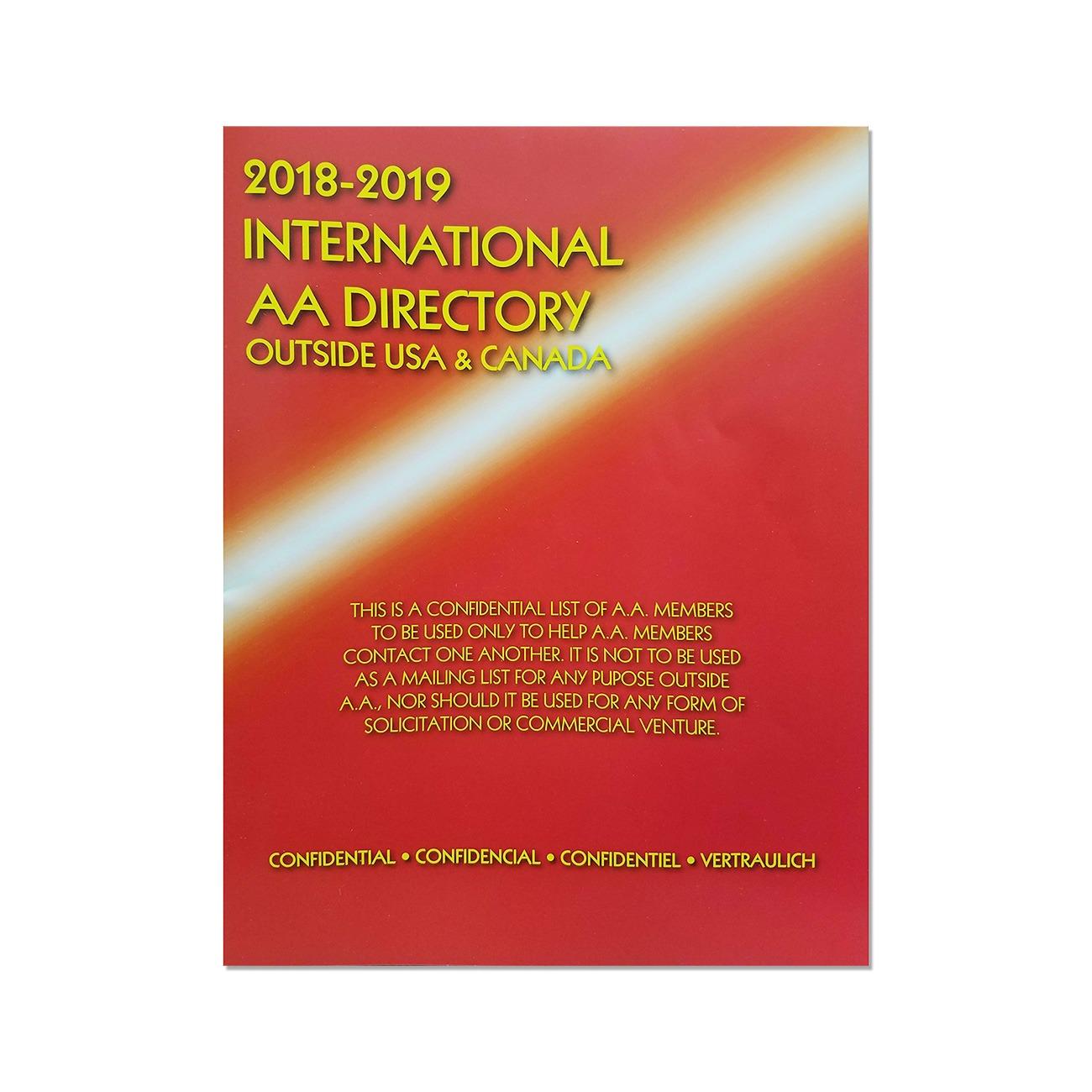 International AA Directory*