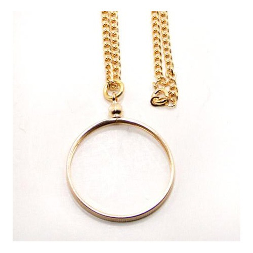 Medallion Holder & Chain Necklace