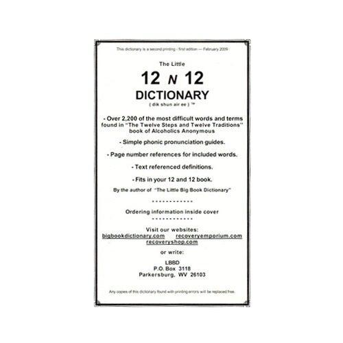 12 n 12 Dictionary