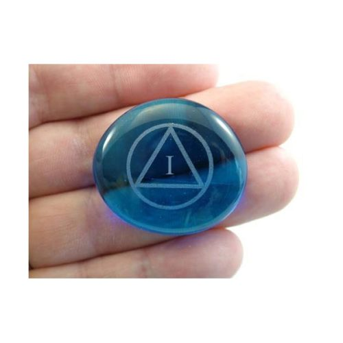 Sobriety Gemstone - Deep Blue