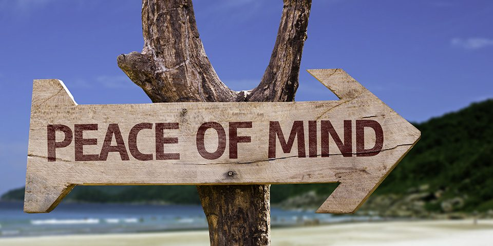 peace of mind in aa