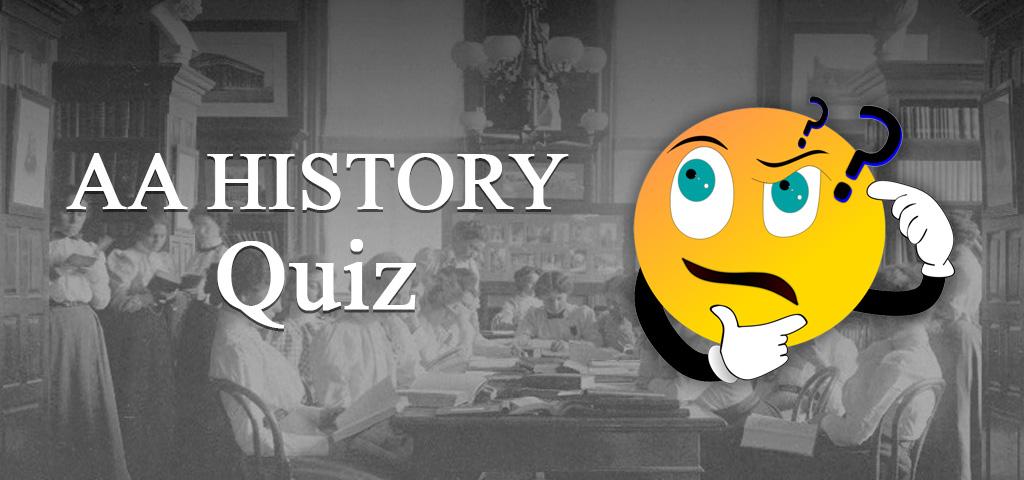aa history quiz